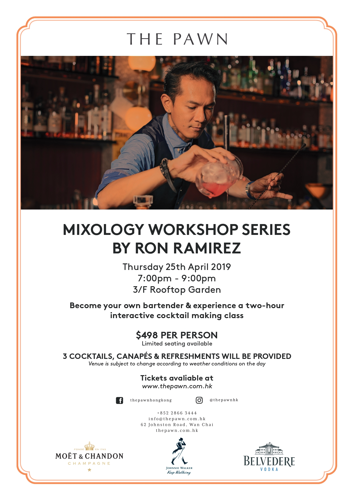 The Pawn Mixology Workshop Series